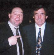 Mr Christmas and Gordon Banks